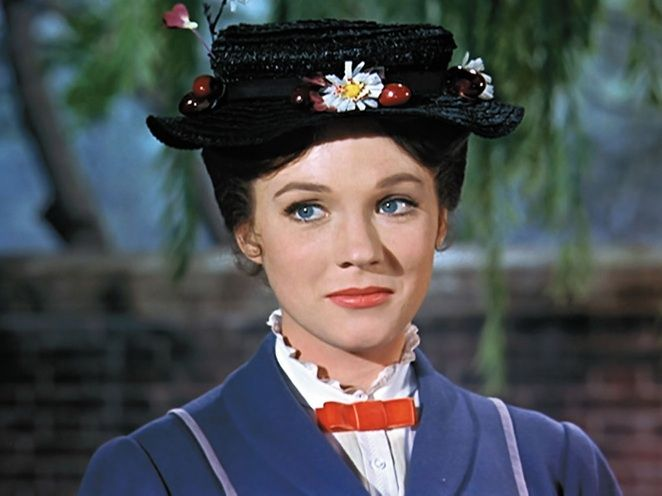 Los papeles TOP de Julie Andrews